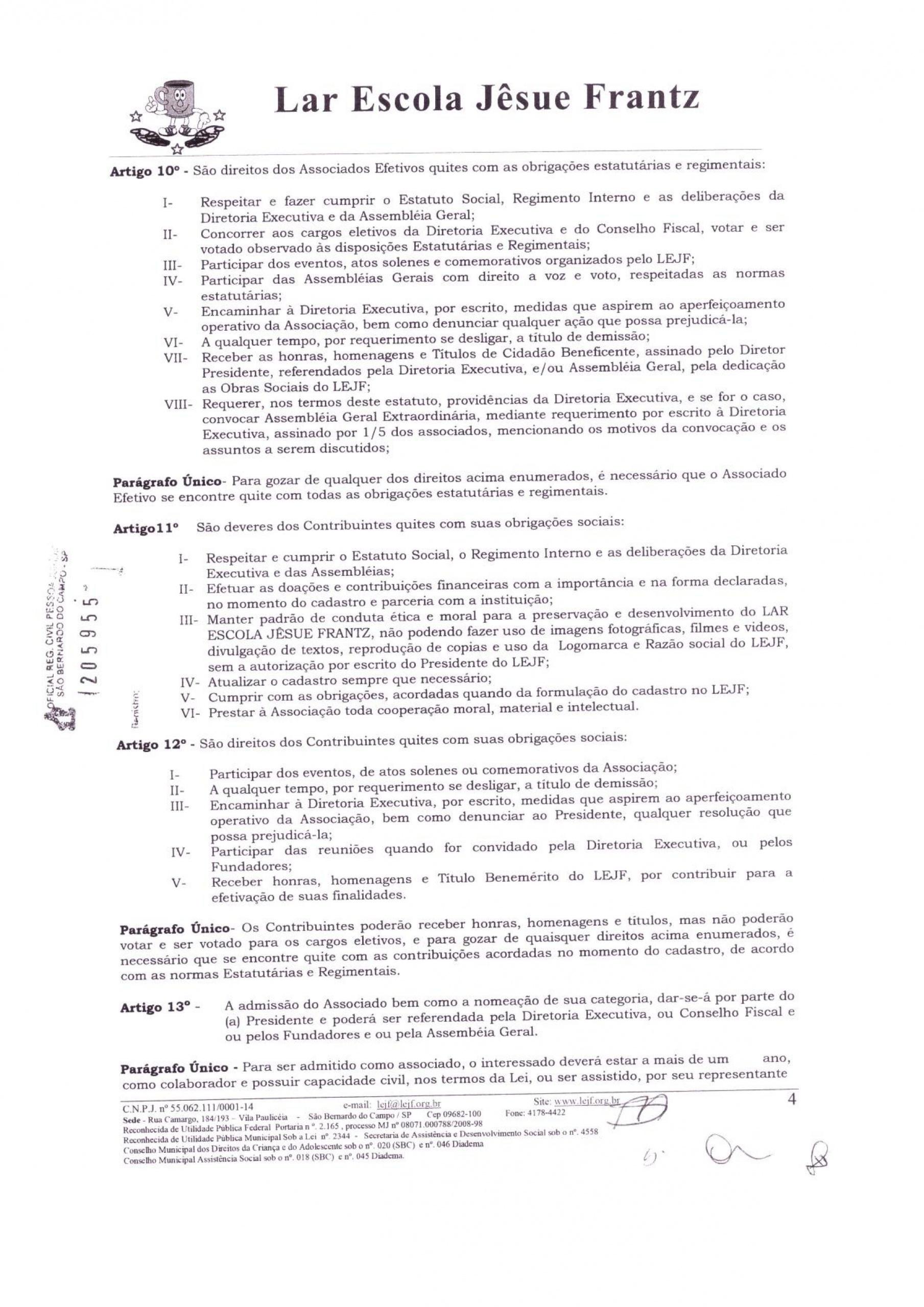 0004 - Estatuto 2018