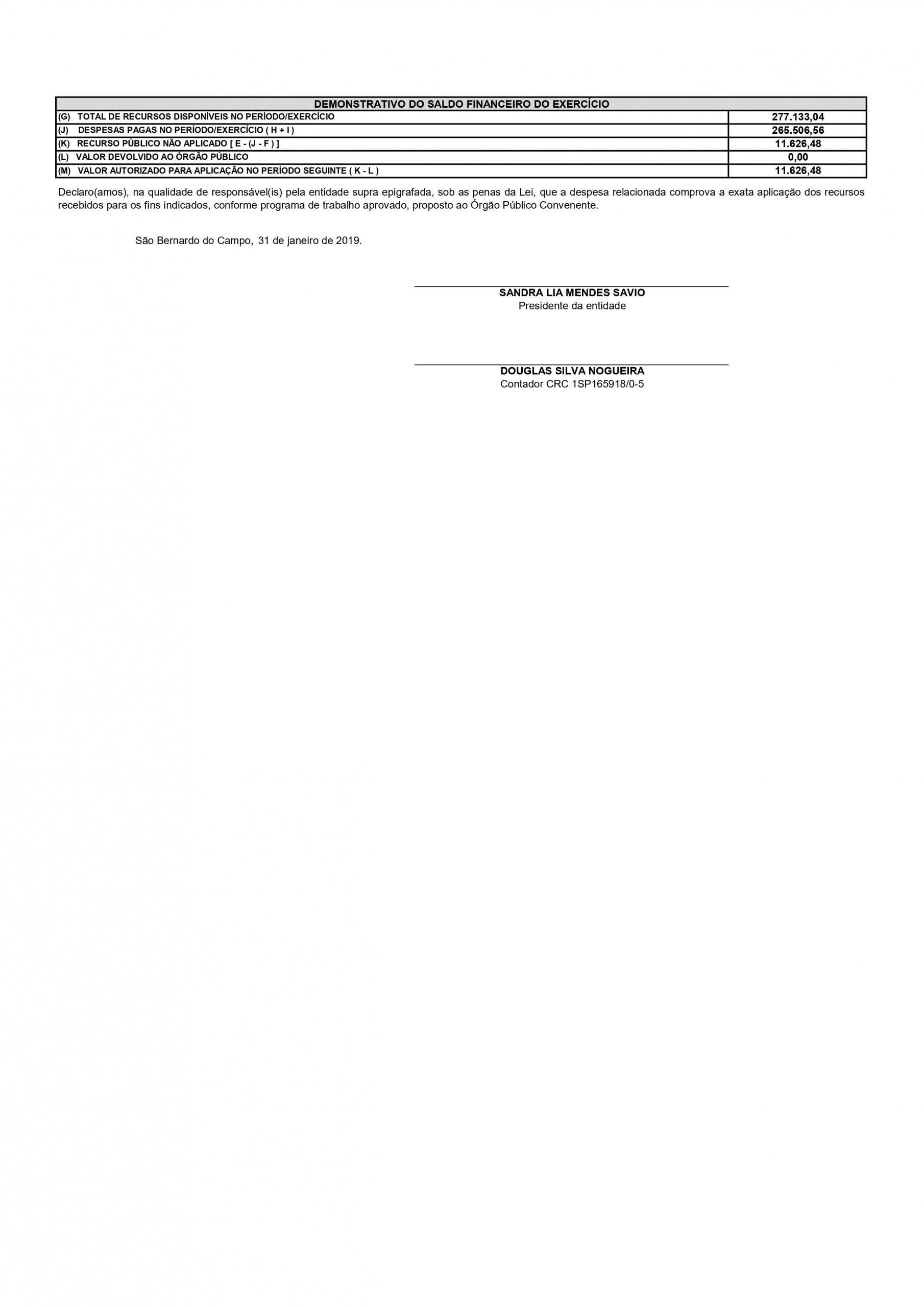 Projeto Direito de Viver SBC - Federal